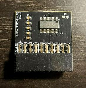 ASUS TPM-L R2.0/Gigabyte GC-TPM2.0 Compatible Trust Platform Module 20-pin 20-1