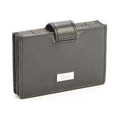 Royce Leather RFID Blocking Credit Card Organizer Wallet Black RFID-419-Black-2
