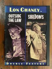 Lon Chaney double OUTSIDE THE LAW & SHADOWS rare US DVD silent movie racist 20s