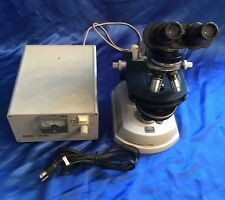 Zeiss Microscope w/ Optics 10-25-40-100 & Light Source