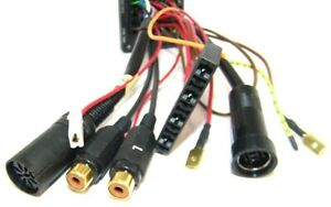 BLAUPUNKT Power Adapter Kabel ISO DIN CHINCH Stecker Ersatzteil 8604390065 Spare