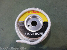 1 METER STOVE ROPE HOTSPOT 9mm DIAMETER GLASS FIBRE SEAL FIRE HEATING WOOD BURN