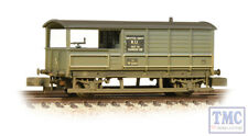 377-376A Graham Farish N Gauge 20 Ton Toad Brake Van BR Grey Weathered