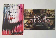 Madonna MDNA / Turn Up the Radio Promo Postcard