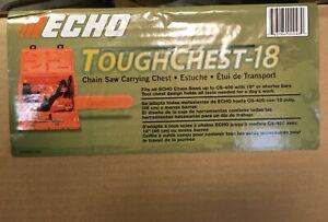"GENUINE OEM ECHO Toughchest-18 Chainsaw Carrying Chest Echo CS-400 - 18"" Bar"
