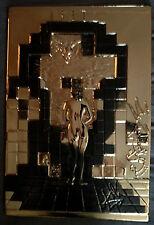 """Rare Salvador Dali """"Lincoln In Dalivision"""" GOLD Bas Relief H.C. 11/125"""