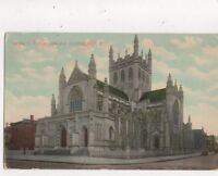 Trinity Cathedral Cleveland Ohio USA Vintage Postcard 809a