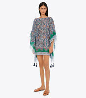 Tory Burch Tunic Dress XS / S Grand Voyage Caftan Cover up NWT Swim 0 2 4 2019