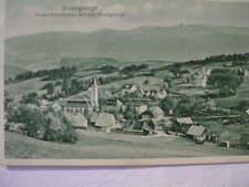 12229 AK Nieder Schreiberhau mit Hochgebirge, Kirche Häuser Riesengebirge 1920