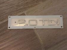 Original Audi A3 8P 2.0 TDI  Emblem Schriftzug Heckklappe Heck Zeichen