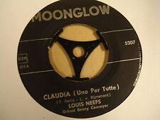 45T SINGLE / LOUIS NEEFS - CLAUDIA / WAT ZOU DE WERELD ZONDER LIEFDE ZIJN