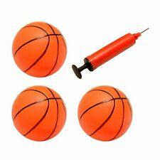 3-Pack Inflatable Magic Shot Mini Hoop Basketballs With Pump