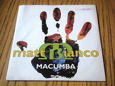 """Matt BIANCO-MACUMBA 7"""" Vinilo PS"""