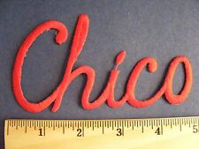 Chico (red) patch