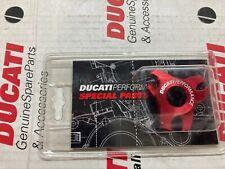 Paire Registre Forcelle Aluminium Rossi Ducati Performance Ch 19 96631408B