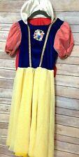 Disney Store Snow White Deluxe Halloween Dress Up Costume Girls Sz 8 10