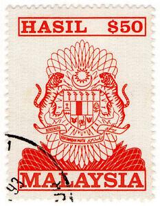 (I.B) Malaysia Revenue : General Duty $50 (1990)