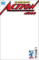 ACTION COMICS #1000 BLANK VAR ED NM SOLD OUT SUPERMAN JUSTICE LEAGUE
