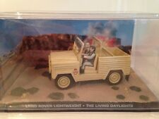 James Bond Land Rover L/W - The Living Daylight - New Sealed Case 1/43 Scale