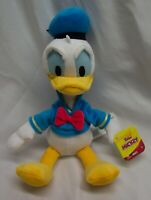 "Walt Disney SOFT DONALD DUCK 10"" Plush Stuffed Animal Toy NEW"