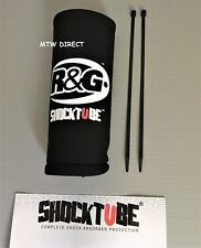 R&G SHOCK2BK Motorcycle Shocktube - Black