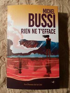 RIEN NE T'EFFACE -- MICHEL BUSSI -- 04 /02/21 -- NEUF