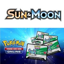 25 Sun & Moon BASE Set Codes Pokemon TCG Online Booster Pack - Emailed FAST!