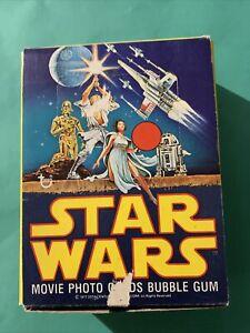 RARE - Topps Ireland Star Wars 1977 Series 2. Gum Card Empty Shop Display Box