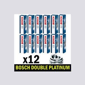 12x Bosch Platinum Spark Plugs for MERCEDES W211 2.6 3.2 E240 E320 M112