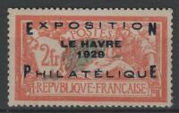 """FRANCE STAMP TIMBRE N° 257 A """" MERSON EXPOSITION HAVRE 1929 """" NEUF xx TB  N483"""