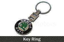 Metall Schlüsselring Schlüsselanhänger Universal Für SKODA Superb Rapid /011