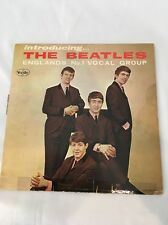 Ultra RARE Introducing The Beatles 1st Pressing Mono Authentic Original VJLP1062