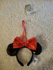 Disney Parks Classic Minnie Mouse Ears Ornament