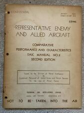 More details for enemy and allied aircraft comparative performace & characteristics taic manual 2