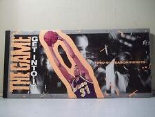 INDIANA PACERS NBA 1990-91 SEASON TICKET BOOK SALESMAN SAMPLE TICKET STUBS RARE