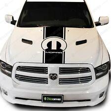 Dodge Ram Mopar Accessories Parts Pickup Truck Hood Decal Vinyl Stripes Sticker