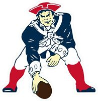 New England Patriots Decal ~ Car / Truck Vinyl Sticker - Wall Graphics, Cornhole