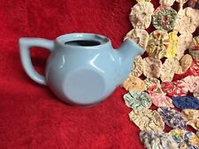Vintage Light Blue Small Tea Pot Makers Mark Unknown