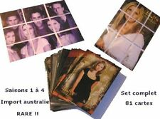 BUFFY set complet 81 trading cards import australie rare Buffy trading card set