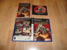GLADIATOR SWORD OF VENGEANCE DE ACCLAIM PARA LA SONY PS2 EN BUEN ESTADO