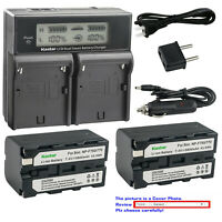 Kastar Battery Charger Sony HVR-HD1000 HVR-V1U HVR-Z1U HVR-Z5U HVR-Z7U HVL-LBPB