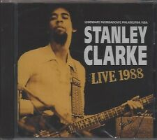 STANLEY CLARKE / LIVE 1988 FM BROADCAST * NEW CD 2018 * NEU *