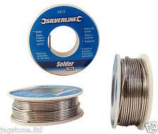 100g 1.0mm 60/40 Tin lead Solder Wire Rosin Core Soldering 2% Flux Reel Tube