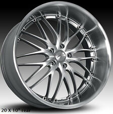 "MRR GT1 Wheels For Chevrolet Corvette C5 19 X 8.5"" / 20 X 10"" Rims & Lugs Set"