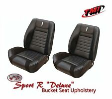 Deluxe Sport R Full Set Upholstery for 1968 Camaro Coupe, w/Folding Rear Seat