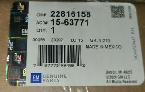 A/C Evaporator Core GM OEM 15-63771 22816158 New In Unopened Box Ships Free!!