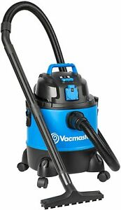 Vacmaster Wet and Dry Vacuum Cleaner 20L 1250W w/ Socket & Blower Function Blue