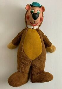 Vintage 1959 Knickerbocker Huckleberry Hound/Yogi Bear Plush GREAT condition!