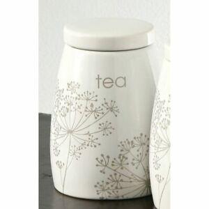 Meadow Breeze Tea Jar, Ceramic