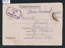 03034) KRIEGSGEFANGENENPOST STALAG XI A atengrabow, BRF 1944 N. La Serbie